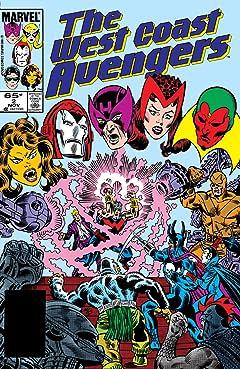 Avengers West Coast (1985-1994) #2