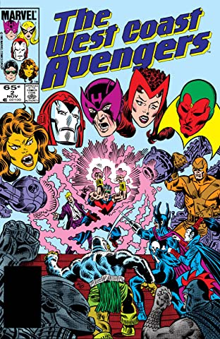 Avengers West Coast (1985-1994) No.2