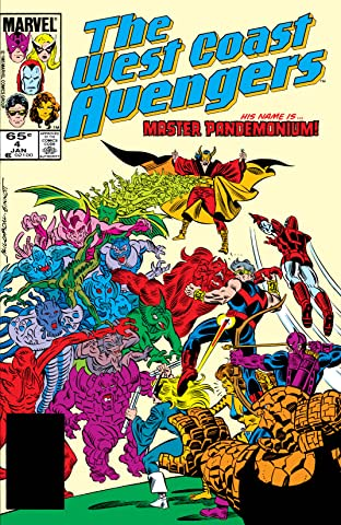 Avengers West Coast (1985-1994) No.4