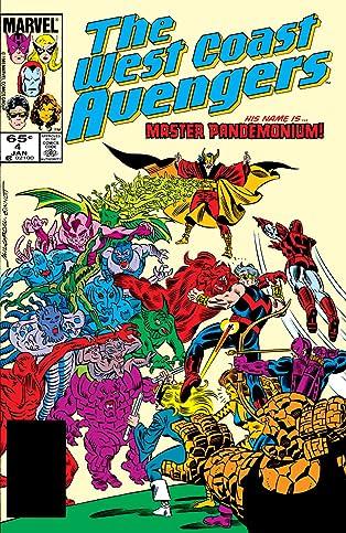 Avengers West Coast (1985-1994) #4