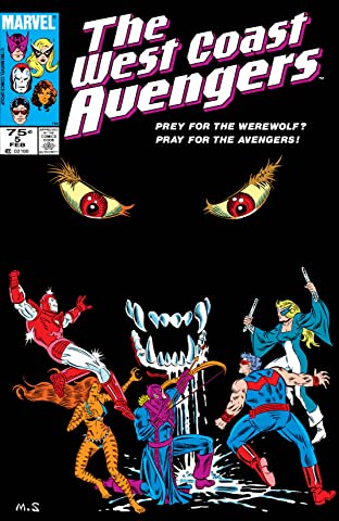 Avengers West Coast (1985-1994) No.5