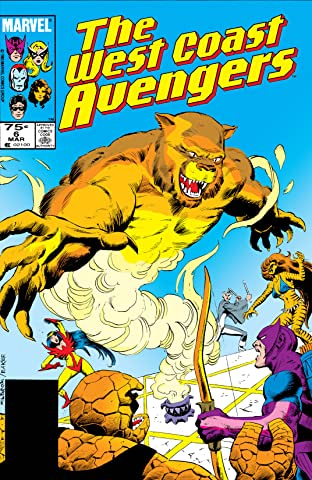 Avengers West Coast (1985-1994) No.6