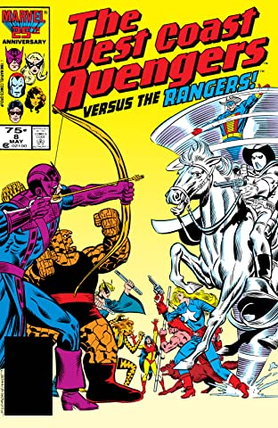 Avengers West Coast (1985-1994) No.8