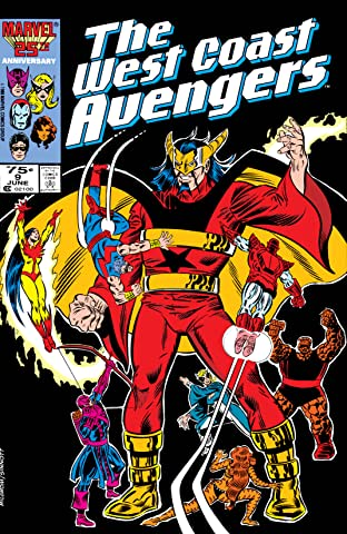 Avengers West Coast (1985-1994) No.9