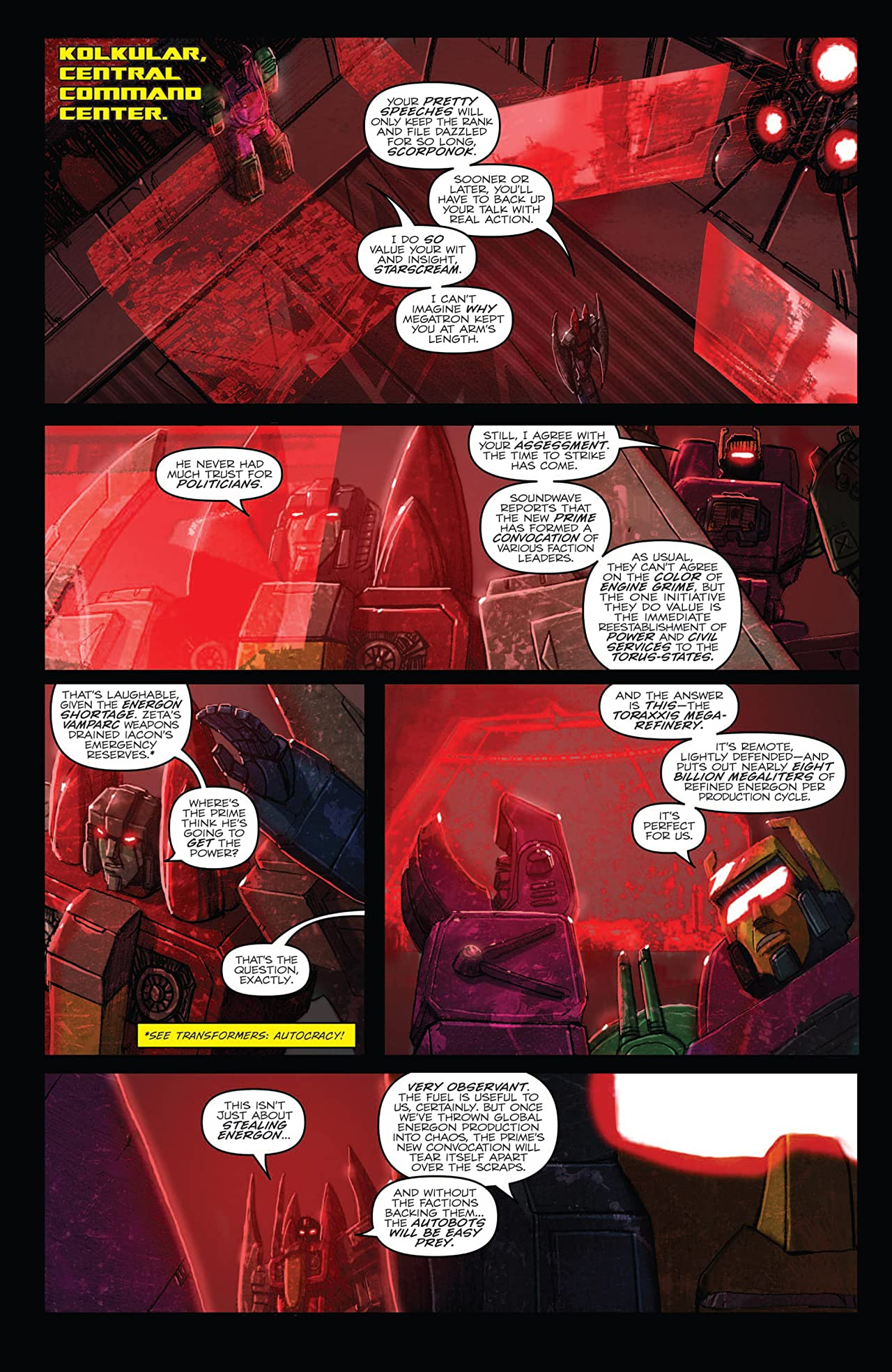 Transformers: Monstrosity #3 (of 12)