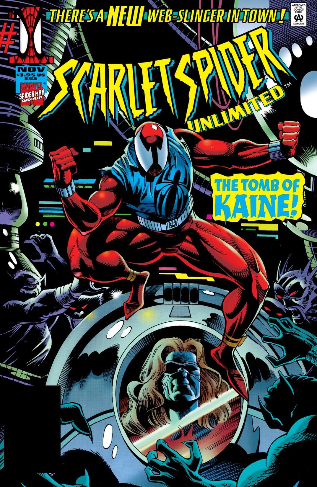 Scarlet Spider Unlimited (1995) #1