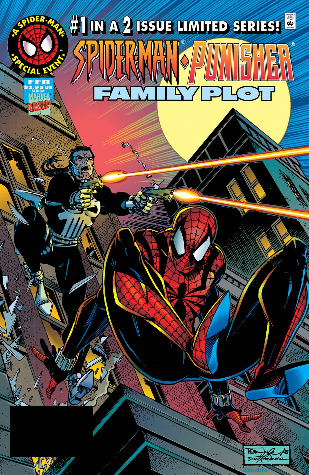 Spider-Man/Punisher: Family Plot (1996) #1 (of 2)