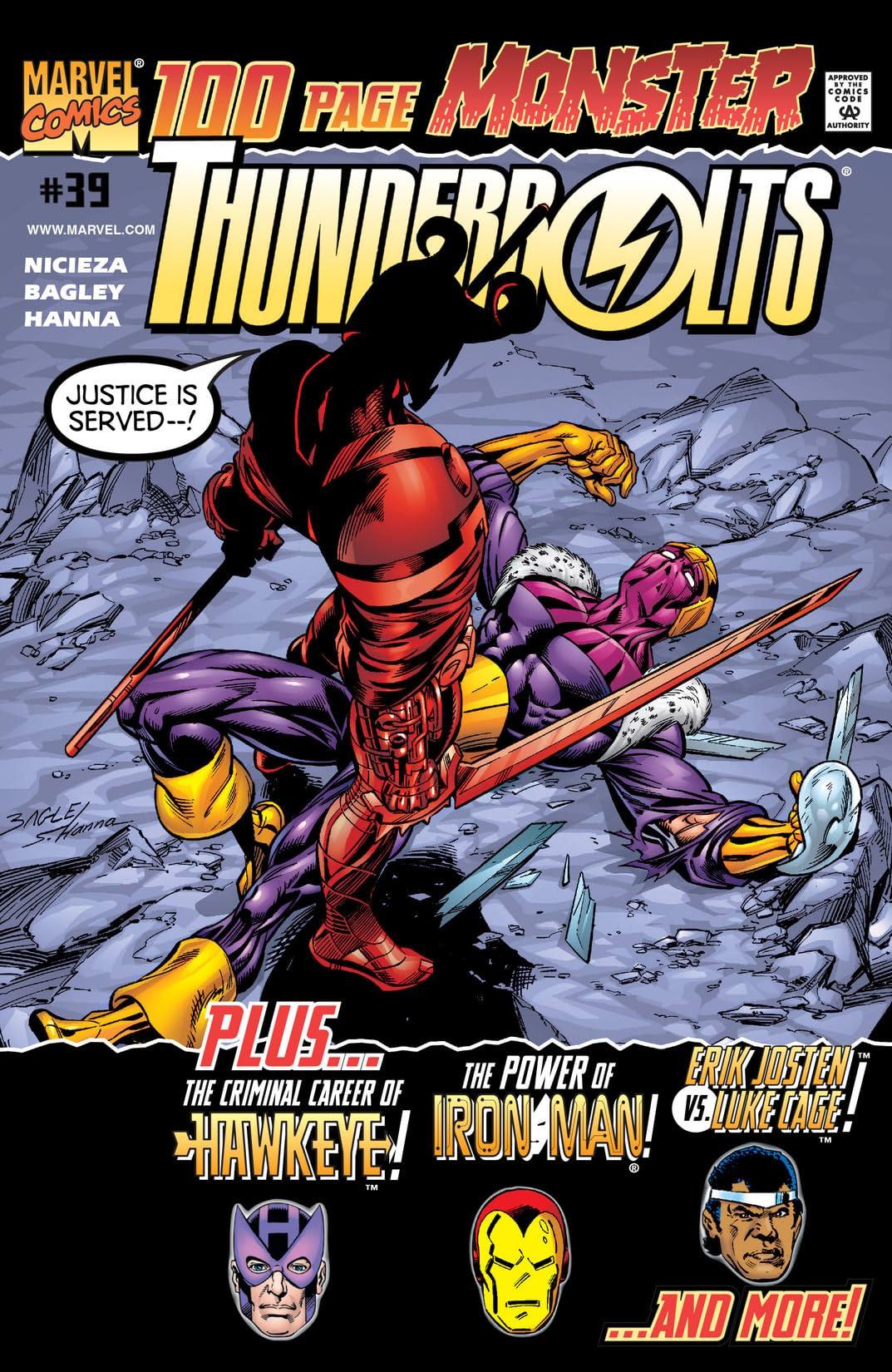 Thunderbolts (1997-2003) #39