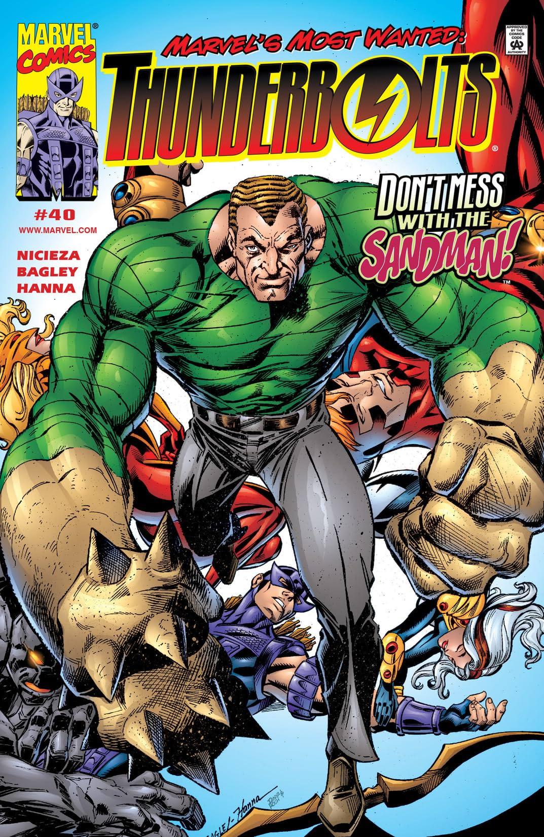 Thunderbolts (1997-2003) #40