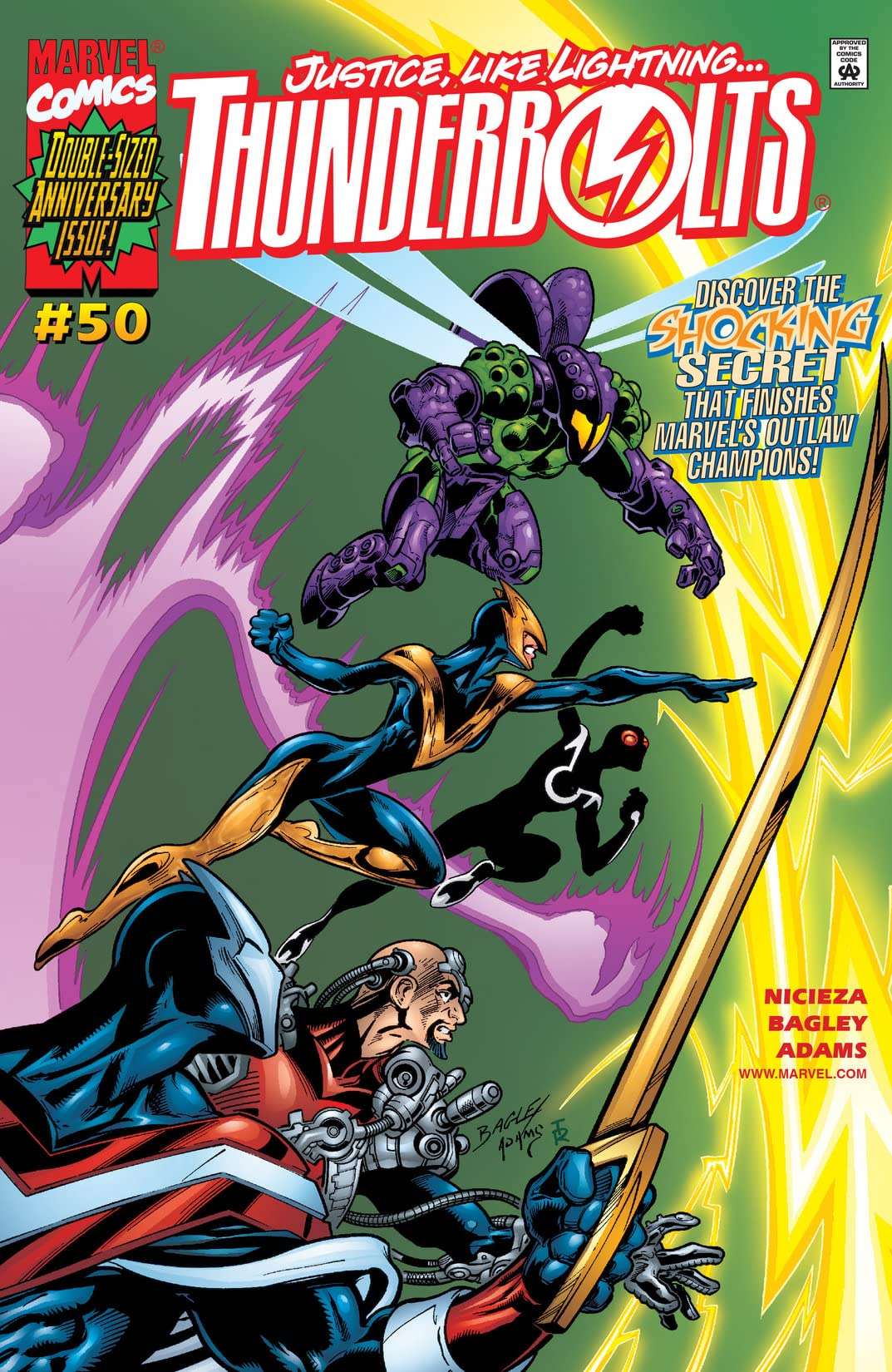 Thunderbolts (1997-2003) #50