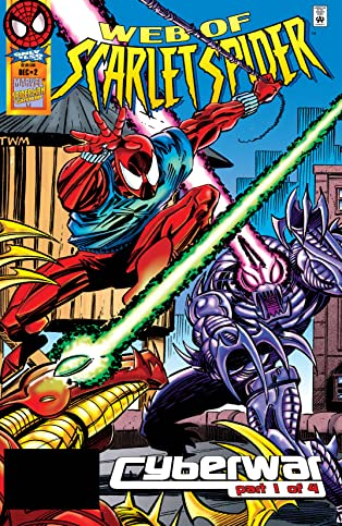 Web of Scarlet Spider (1995-1996) #2 (of 4)