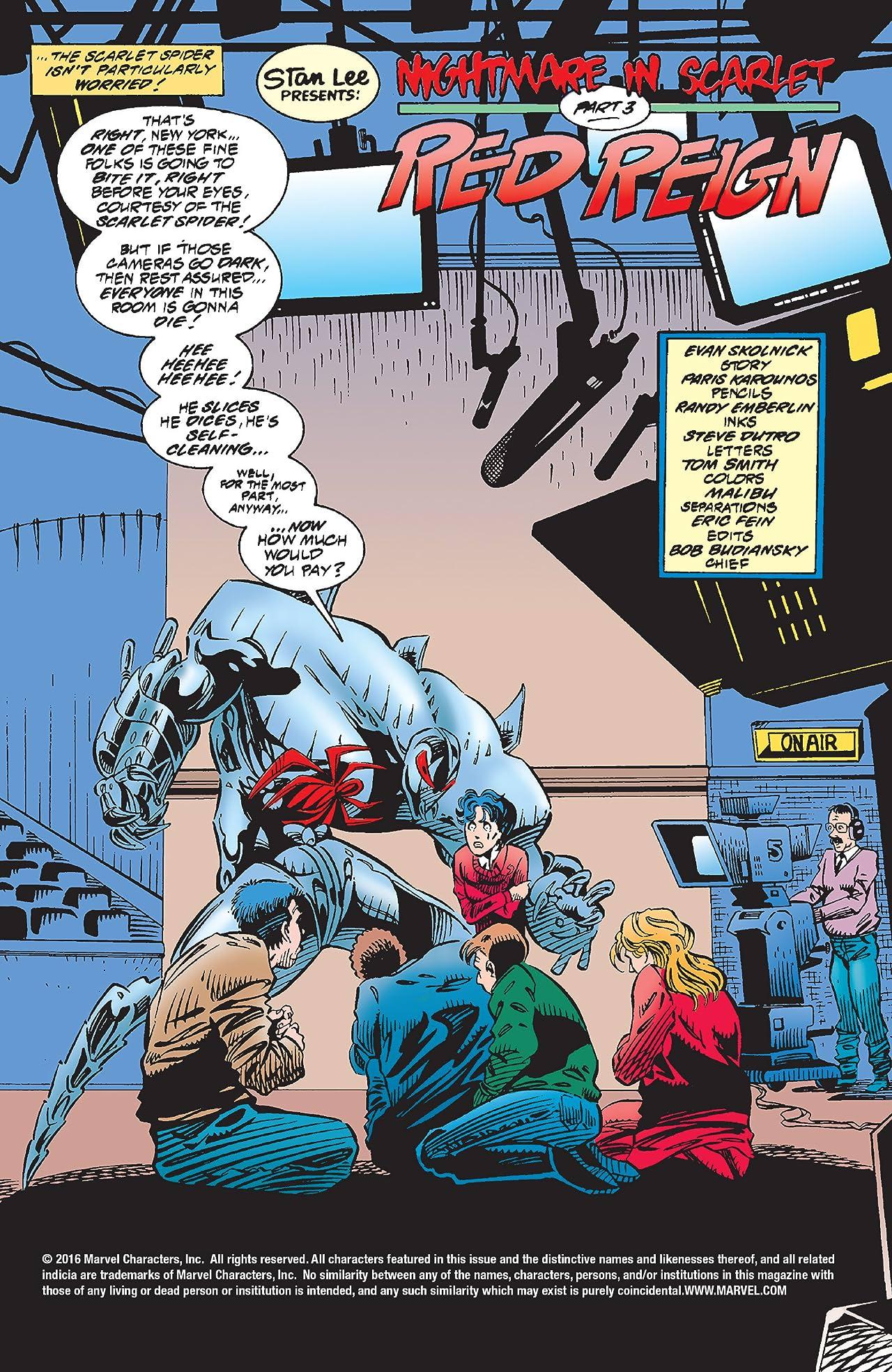 Web of Scarlet Spider (1995-1996) #4 (of 4)
