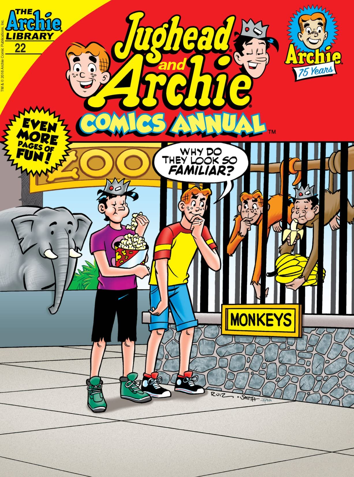 Jughead and Archie Comics Double Digest #22