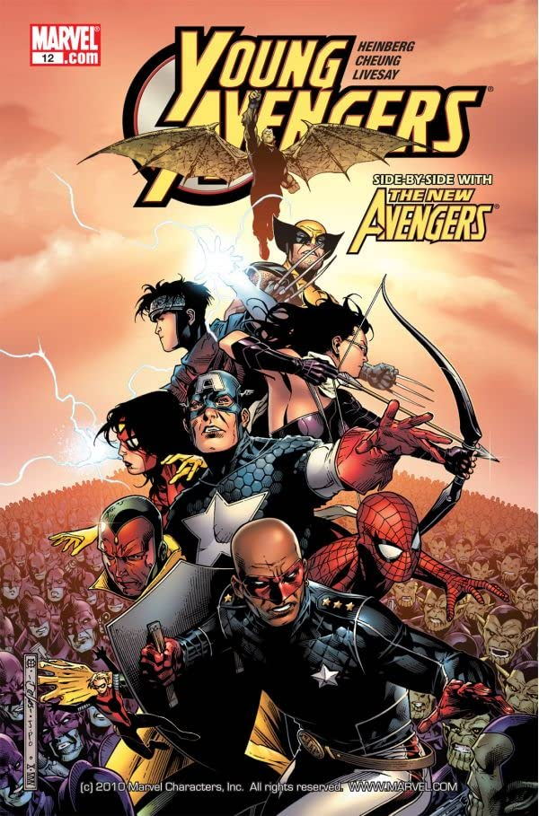 Young Avengers (2005-2006) #12