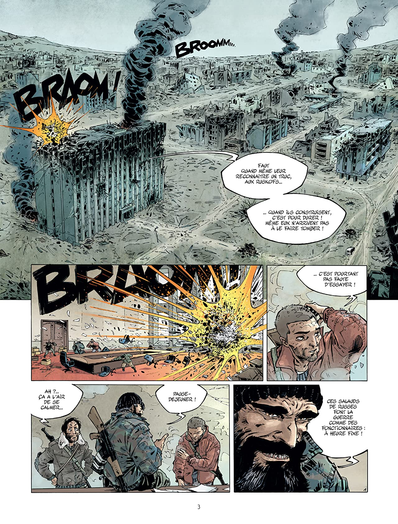 Amère Russie Tome 2: Les Colombes de Grozny
