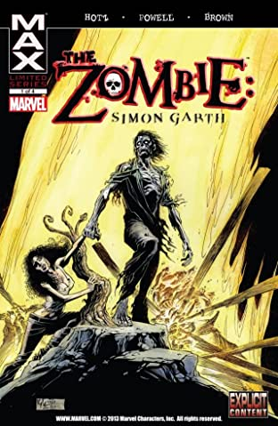 The Zombie: Simon Garth #1 (of 4)