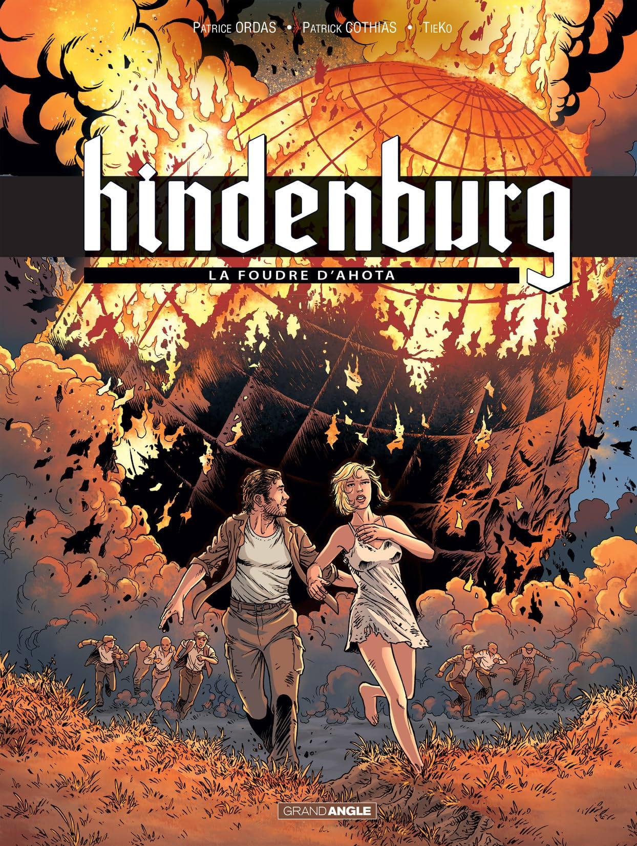 Hindenburg Vol. 3: La foudre d'Ahota