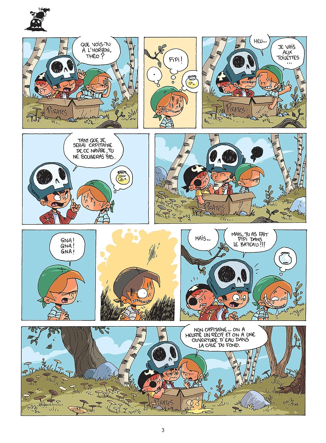 Jeu de gamins Vol. 1: Les pirates