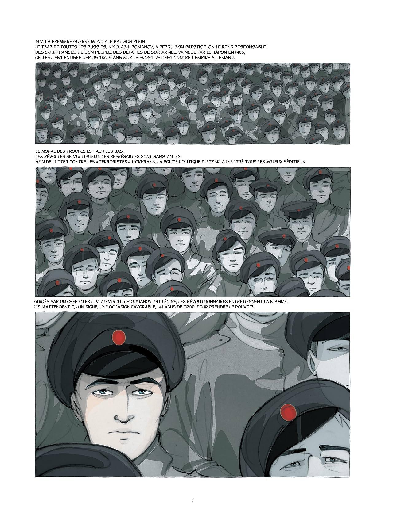 Kamarades Vol. 1: La fin des Romanov