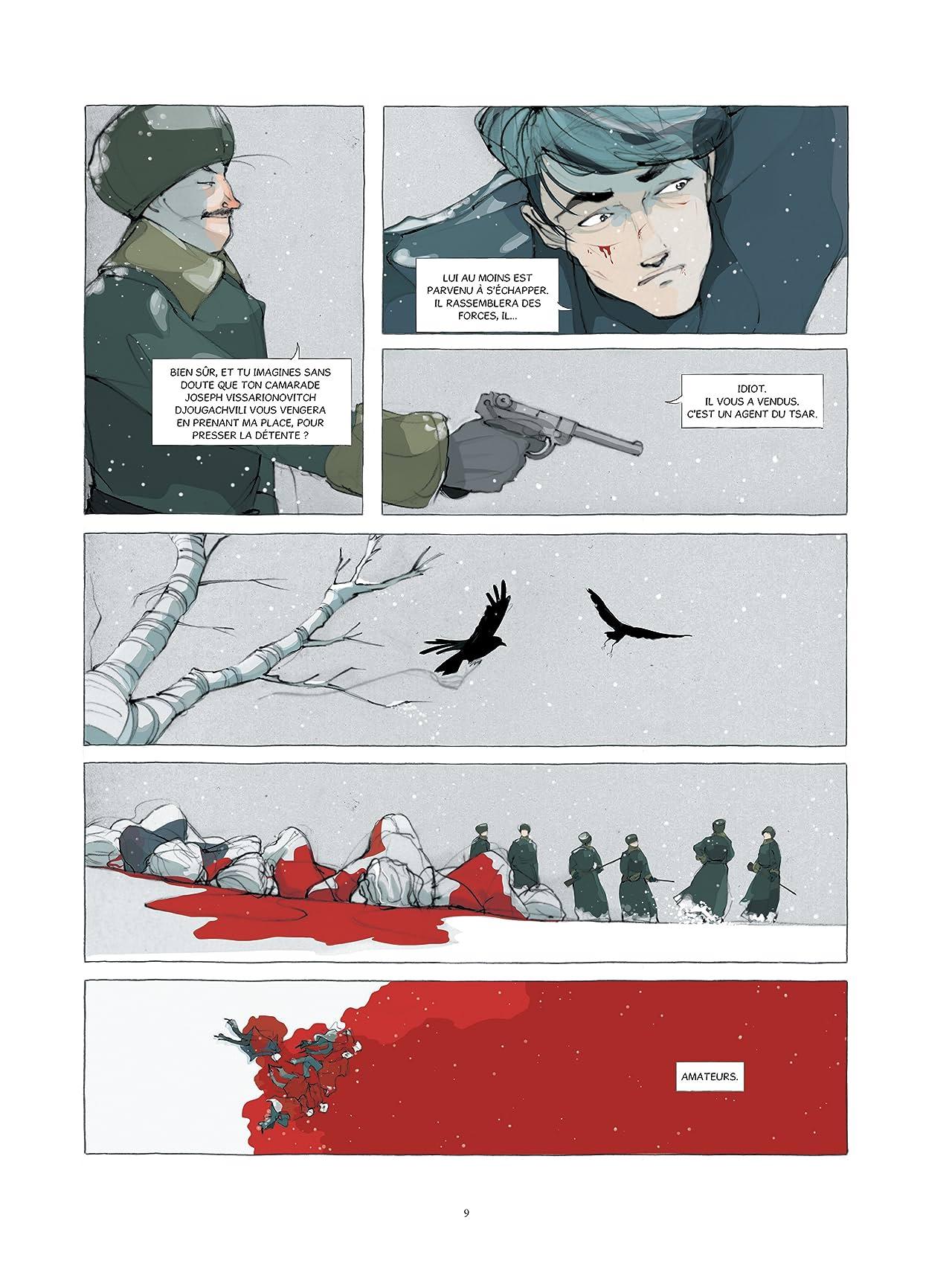 Kamarades Tome 1: La fin des Romanov