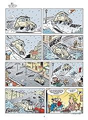 Les damnés de la route Vol. 9: Les 2 chevaux font du ski !