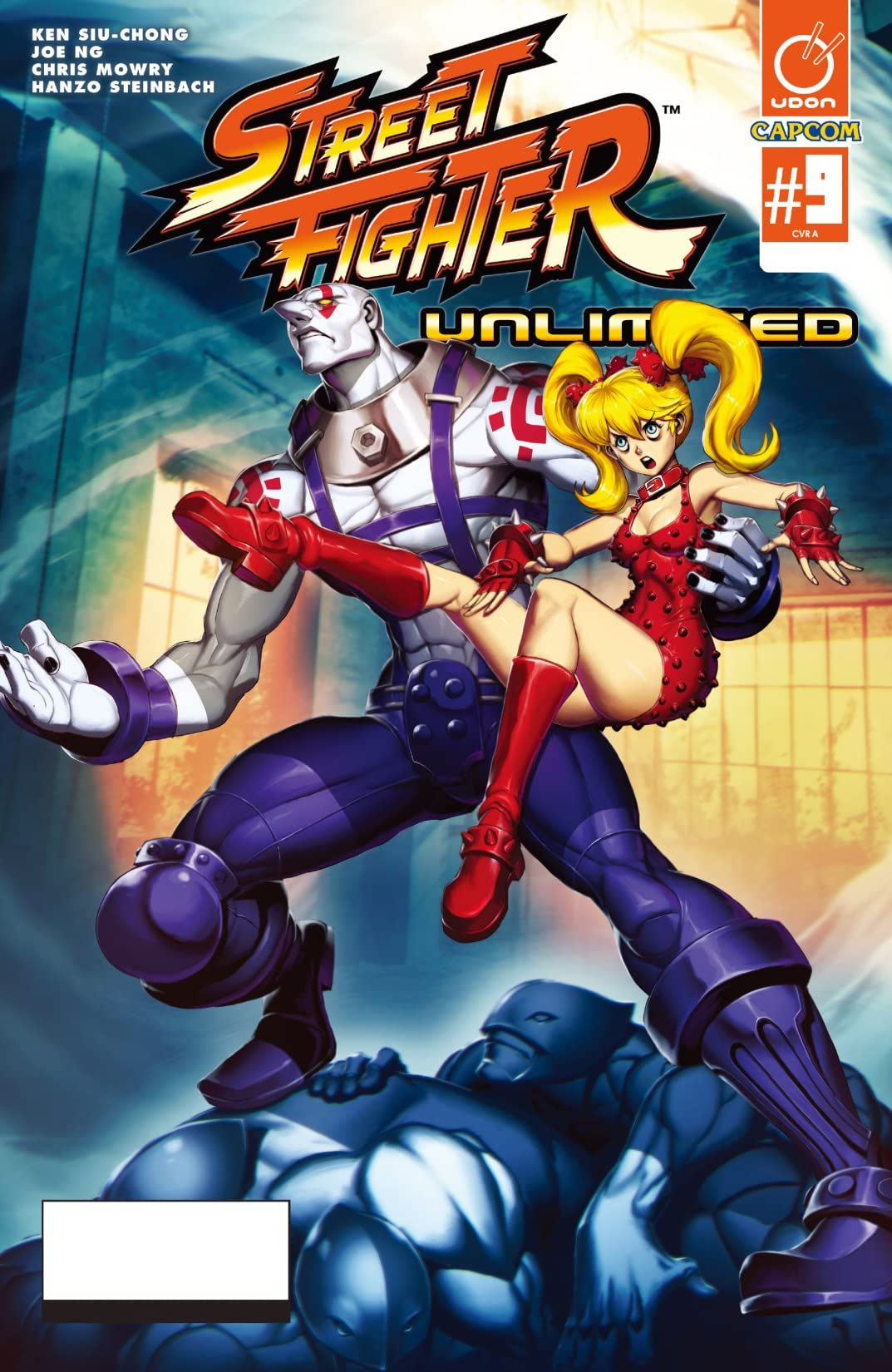 Street Fighter Unlimited #9