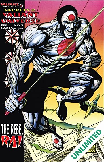 Secrets of the Valiant Universe (1994-1995) #3
