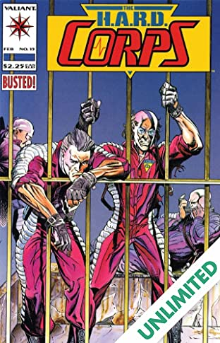 H.A.R.D. Corps (1992-1995) #15