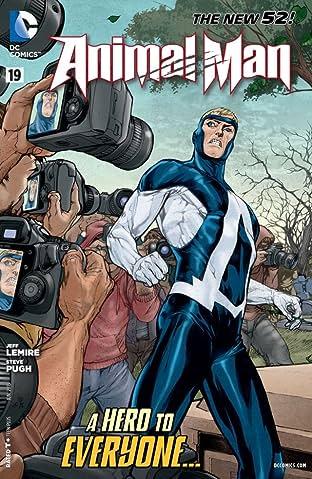 Animal Man (2011-2014) #19