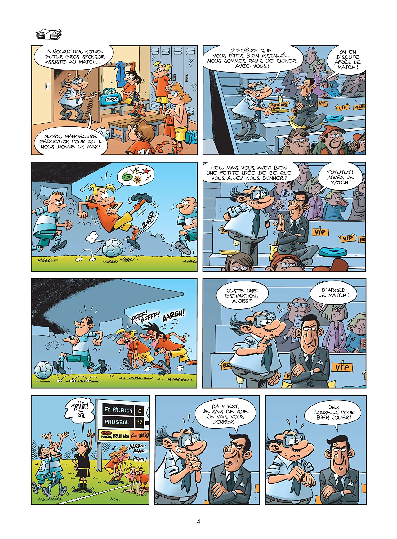 Les footmaniacs Vol. 11