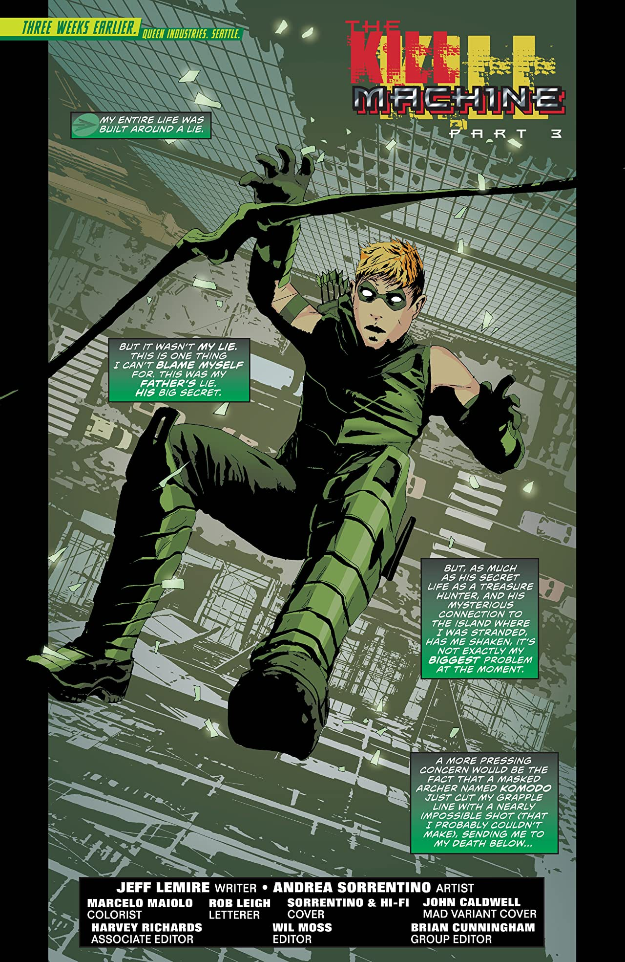 Green Arrow (2011-2016) #19