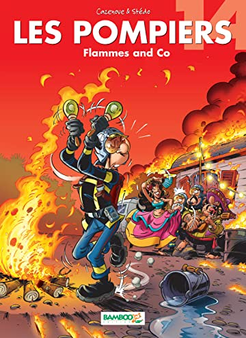 Les Pompiers Vol. 14: Flammes and Co
