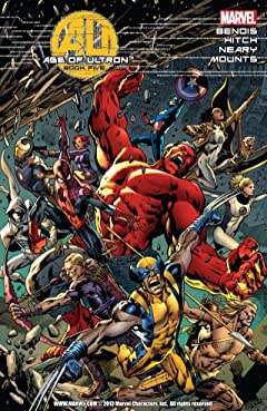Age of Ultron No.5 (sur 10)