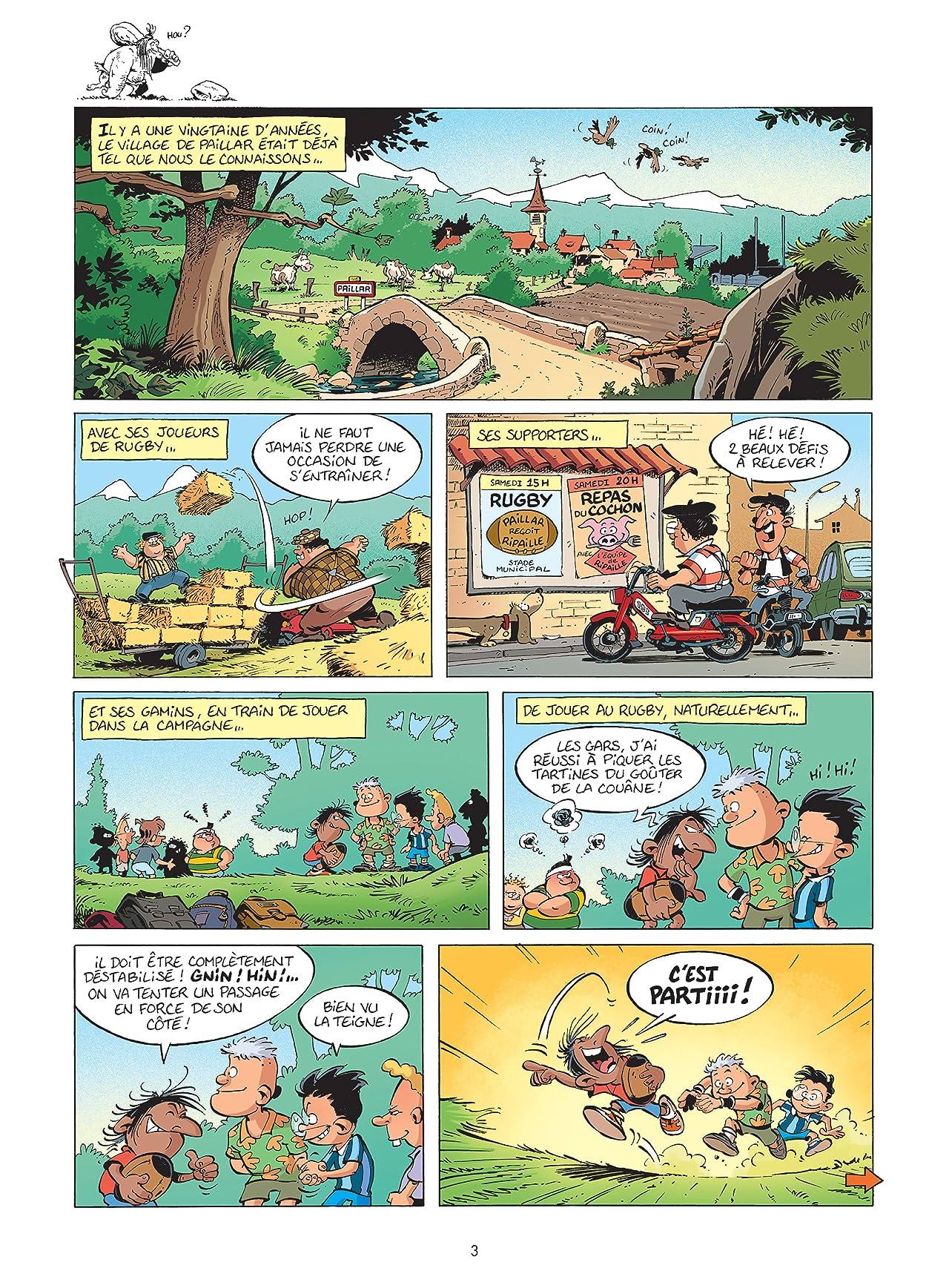Les Rugbymen Vol. 6: On commence à fond,  puis on accélère !