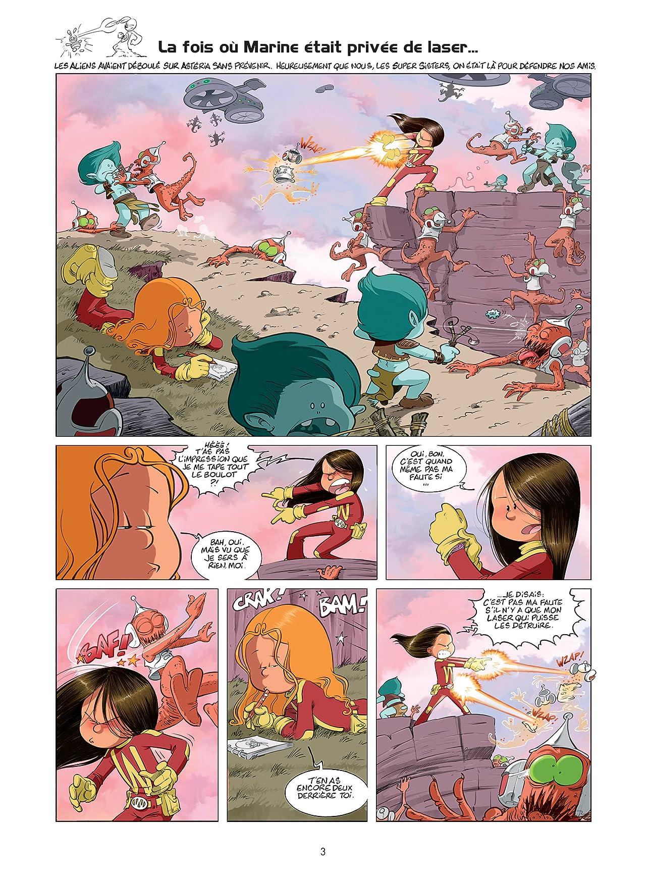 Les Super Sisters Vol. 1: Privée de laser (nouvelle édition)