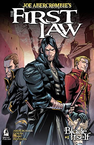 joe abercrombie s the first law the blade itself 1 comics by
