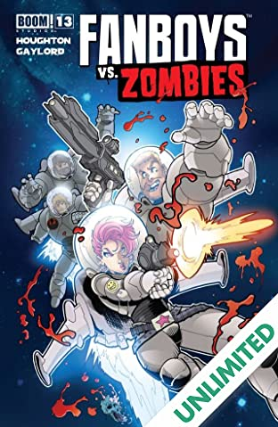 Fanboys vs. Zombies #13