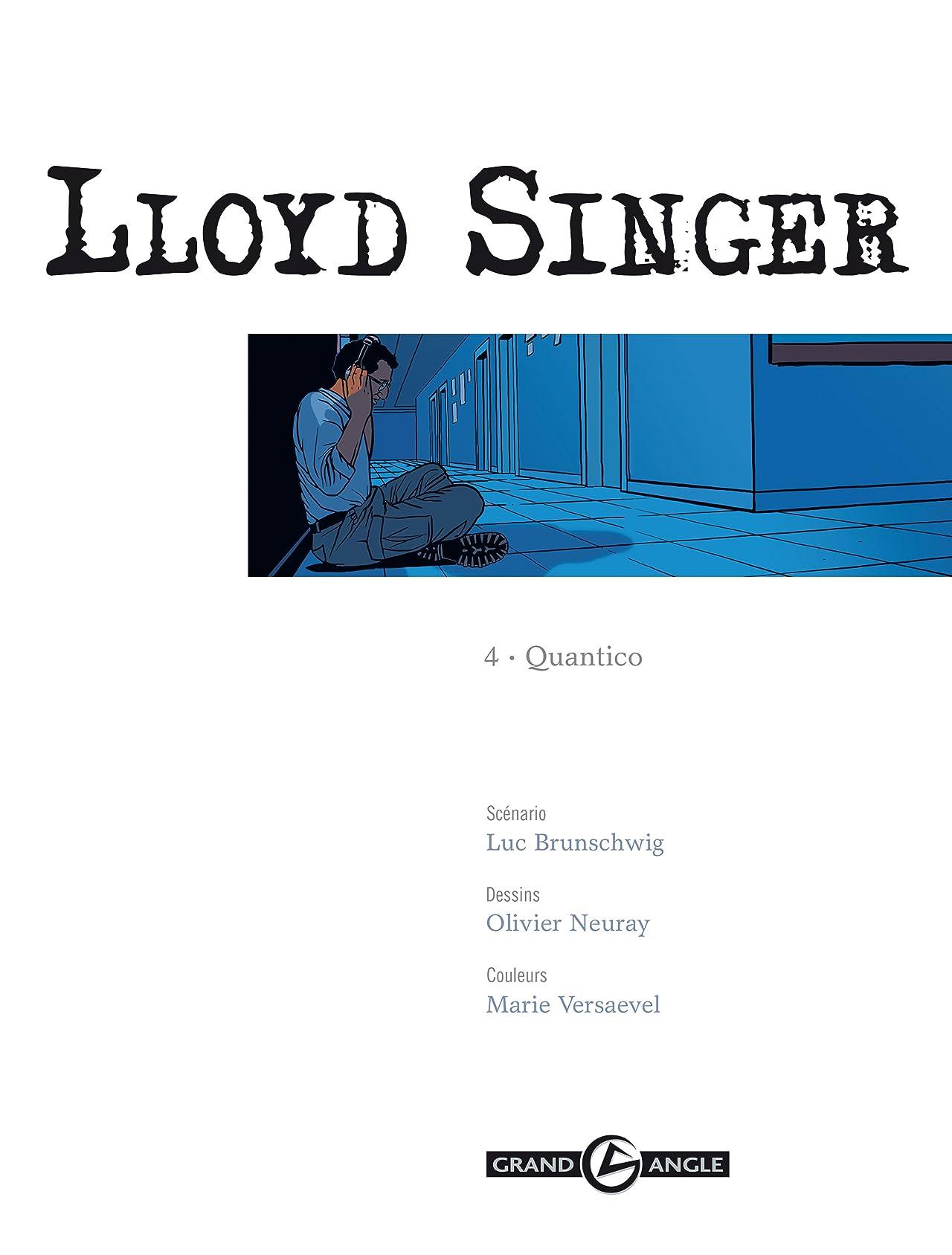 Lloyd Singer Vol. 4: Quantico