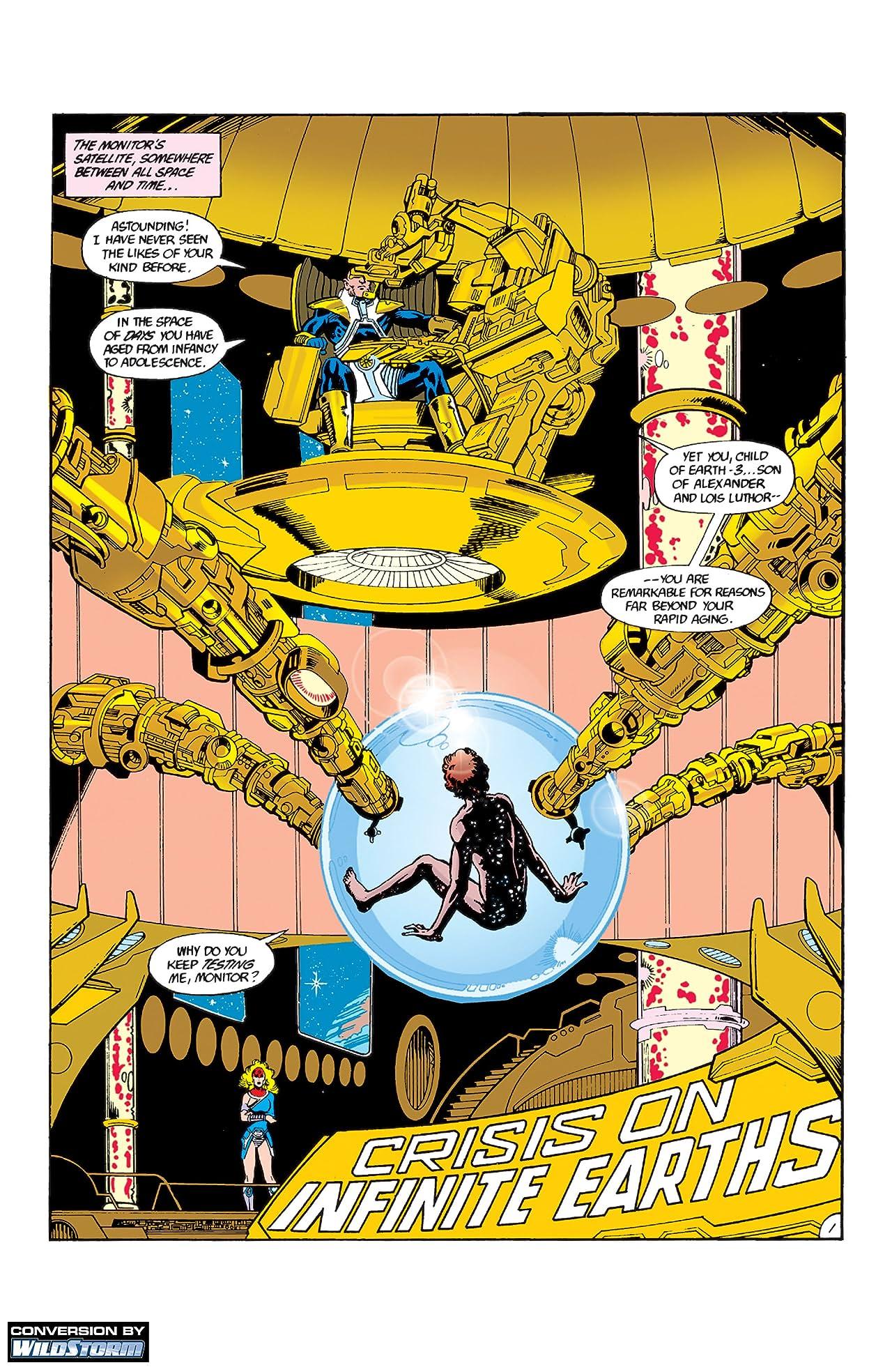 Crisis on Infinite Earths #3
