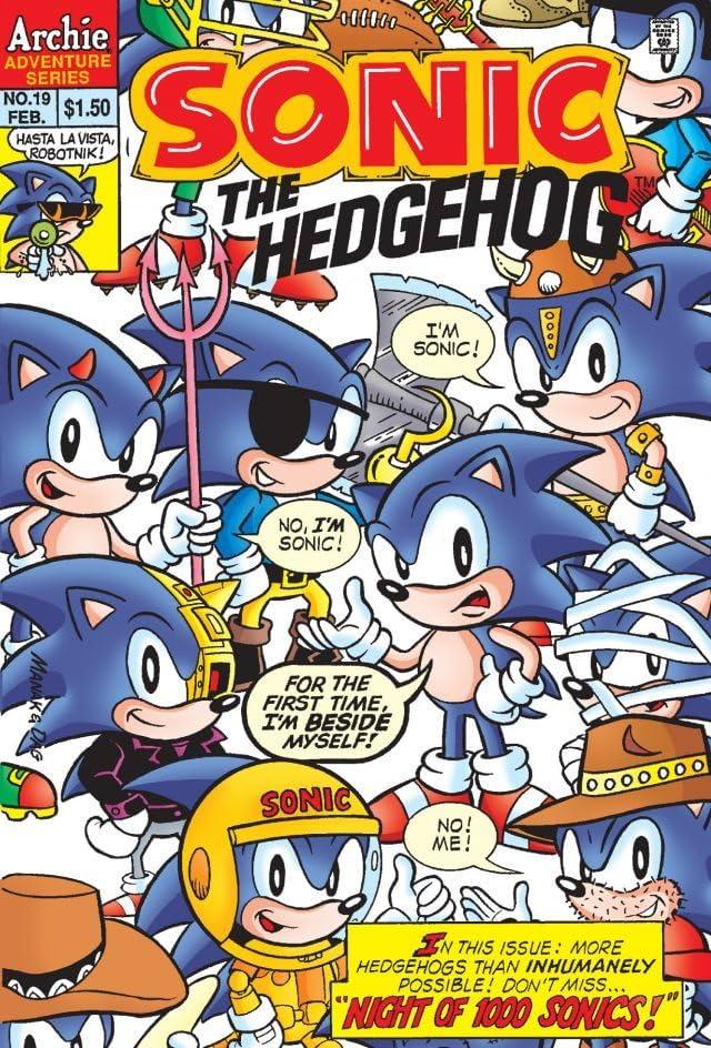 Sonic the Hedgehog #19