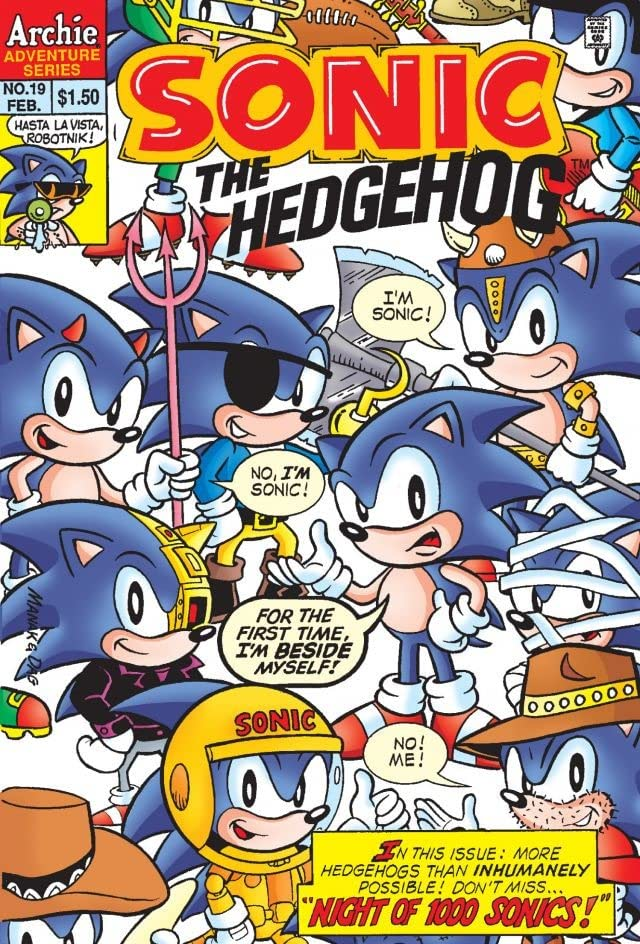 Sonic the Hedgehog #19