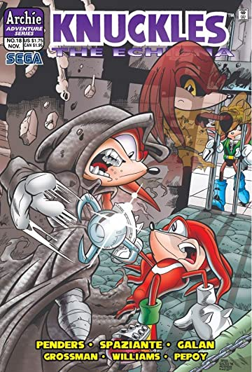 Knuckles the Echidna #18