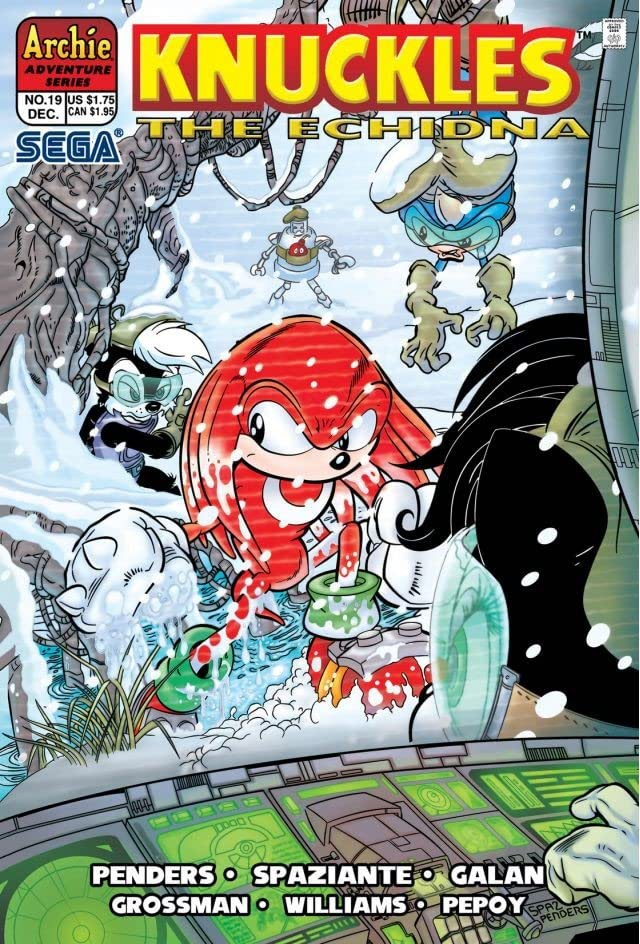 Knuckles the Echidna #19