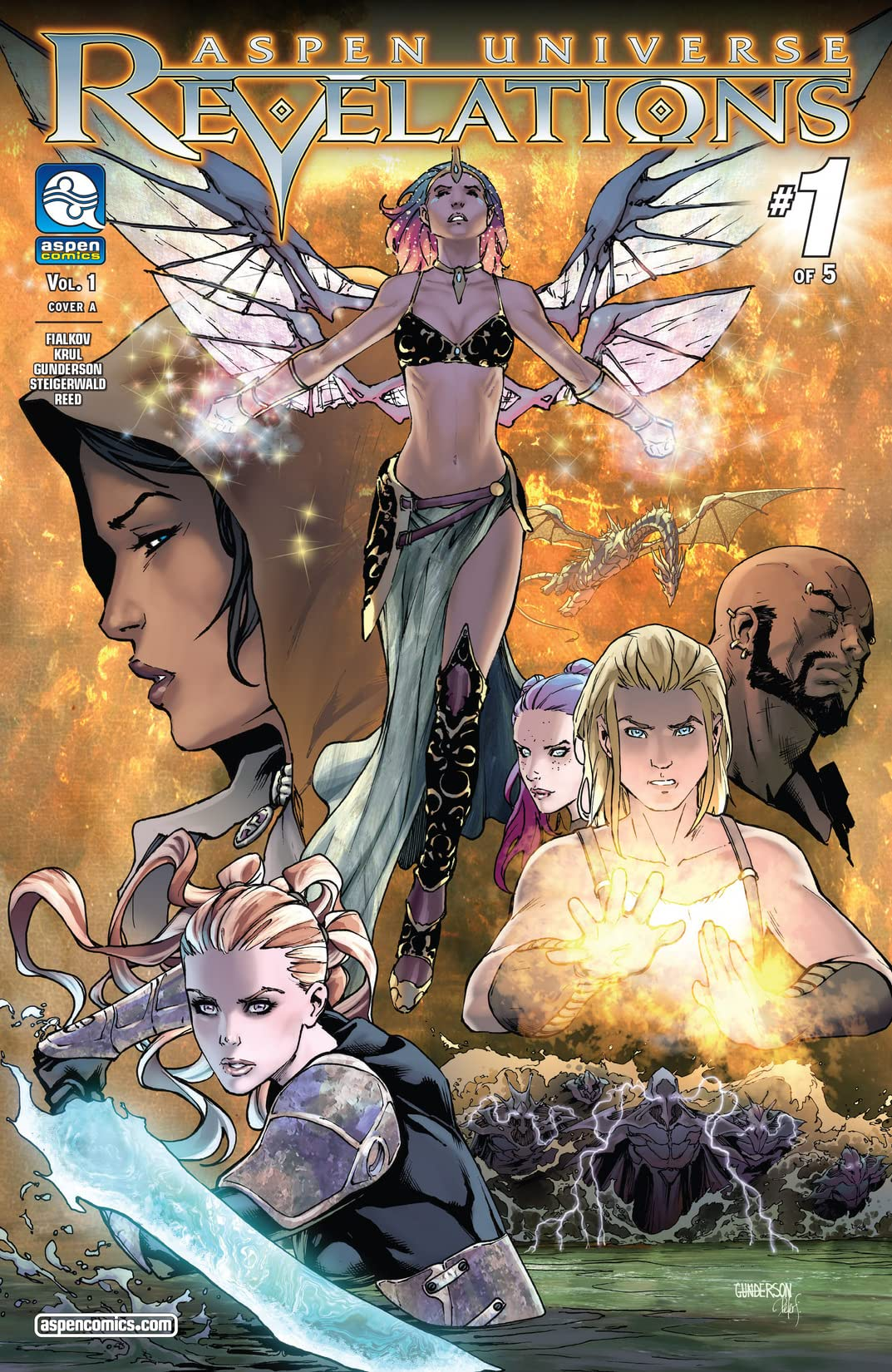 Aspen Universe: Revelations Vol. 1 #1 (of 5)