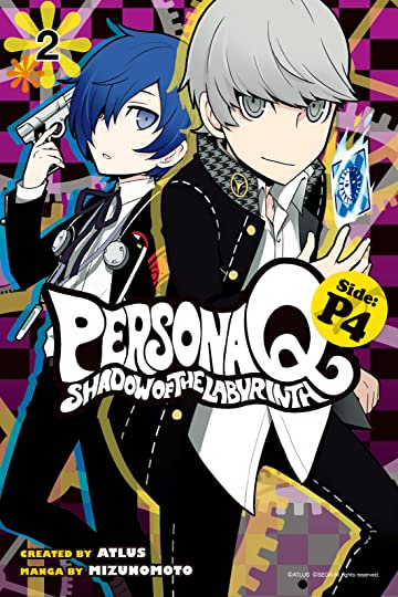 Persona Q: Shadow of the Labyrinth Side: P4 Vol. 2