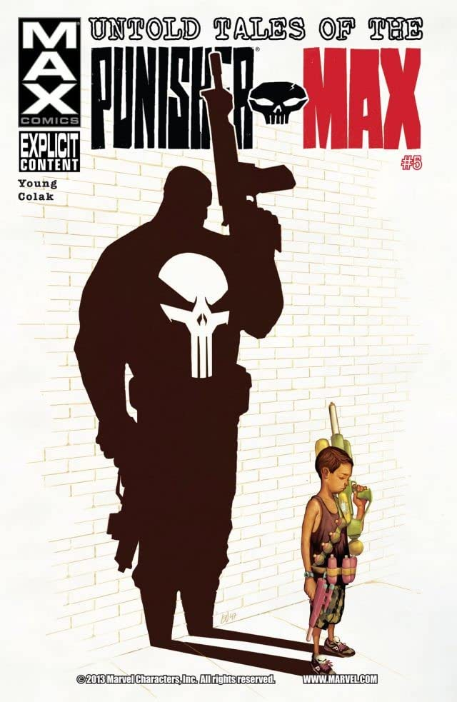 Untold Tales of Punisher Max #5 (of 5)