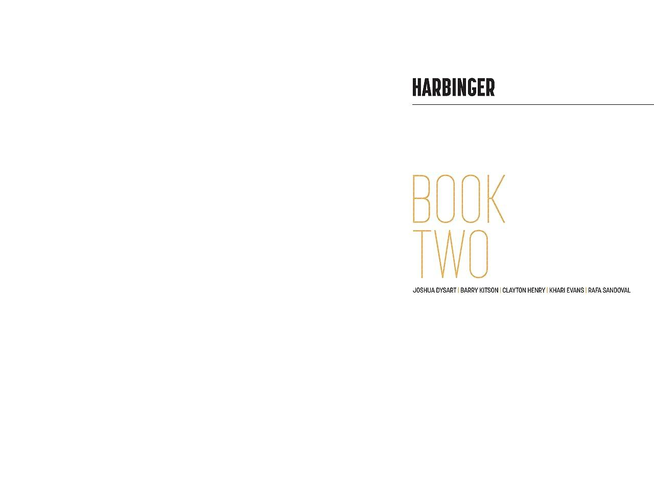 Harbinger Deluxe Edition Vol. 2