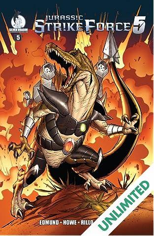 Jurassic Strike Force 5 #5