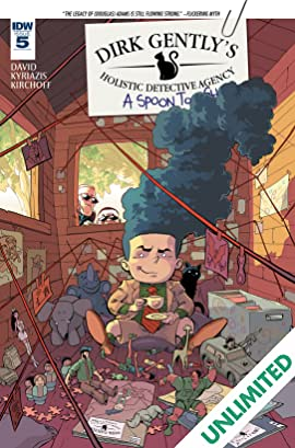 Dirk Gently's Holistic Detective Agency: A Spoon Too Short #5 (of 5)