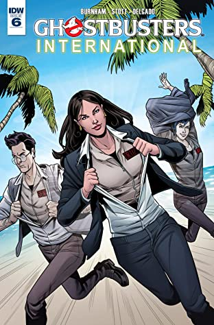 Ghostbusters International #6